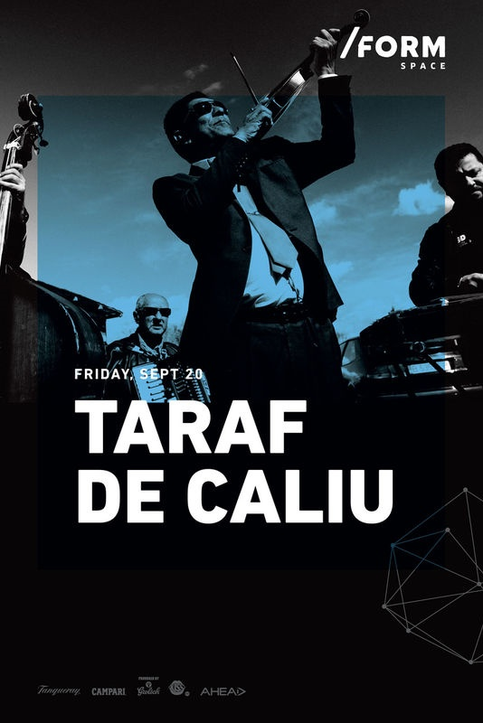 Taraf de Caliu la Form Space Club