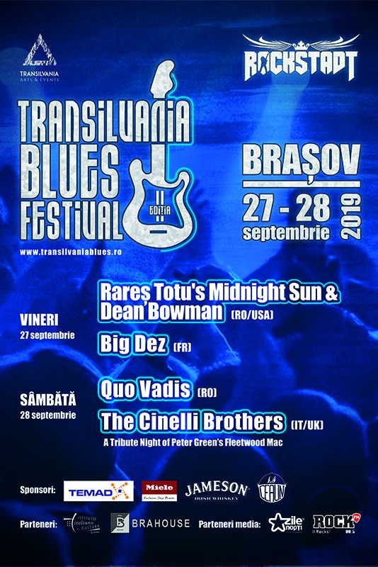 Transilvania Blues Festival 2019 la Rockstadt