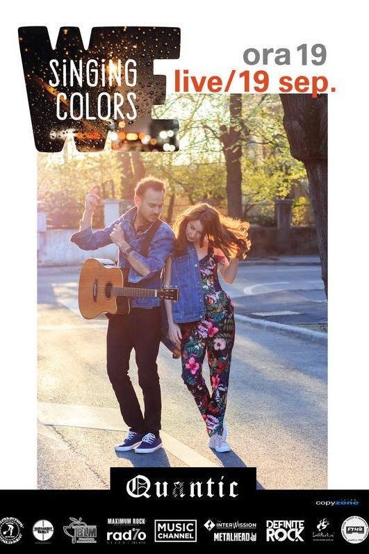 We Singing Colors la Quantic Club