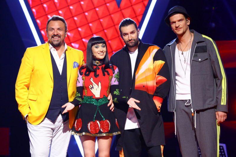 Antrenori Vocea României 2019