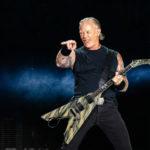 James Hetfield în concertul Metallica de la București pe 14 august 2019