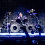 Lars Ulrich în concertul Metallica de la București pe 14 august 2019