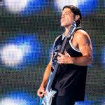 Robert Trujillo în concertul Metallica de la București pe 14 august 2019