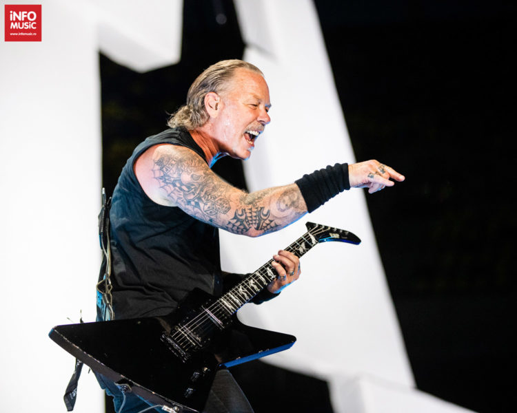James Hetfield, solistul Metallica