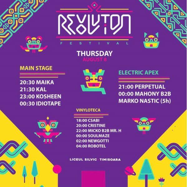 Revolution Festival 2019 - Programul primei zile