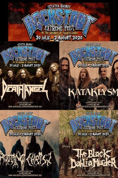 Poster eveniment Rockstadt Extreme Fest 2020