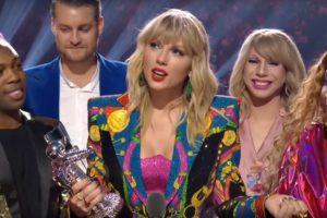 Taylor Swift la MTV VMA 2019