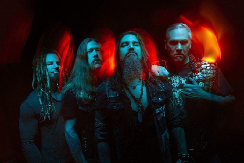 Fotografie portret trupa Machine Head 2019