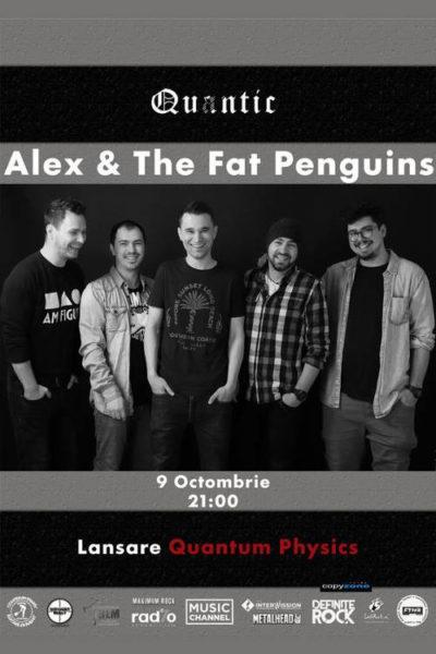 Poster eveniment Alex & The Fat Penguins - lansare single