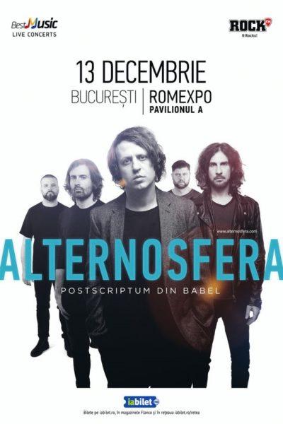 Poster eveniment Alternosfera - Postscriptum din Babel