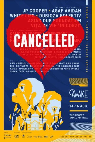 Poster eveniment AWAKE Festival 2020