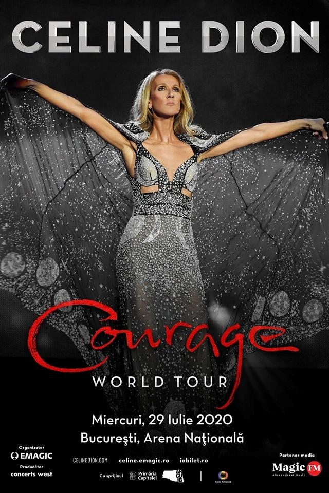 Celine Dion la Arena Națională