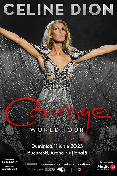 Poster eveniment Celine Dion