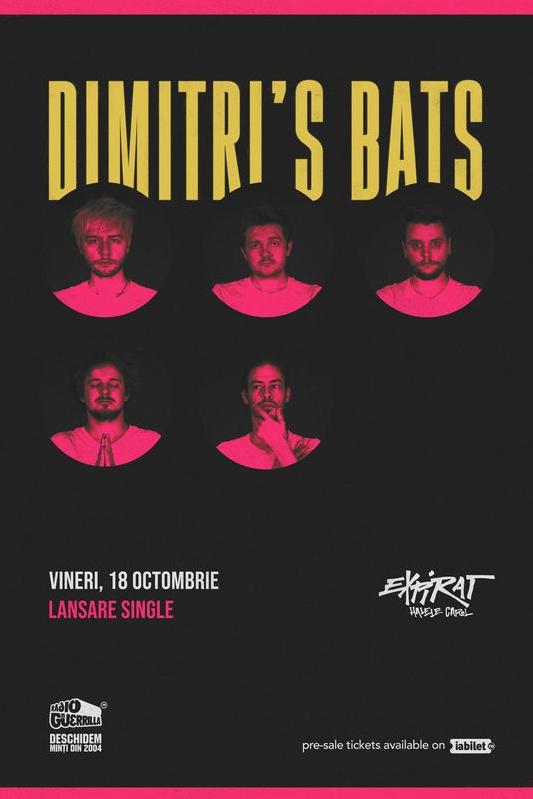 Dimitri's Bats - lansare single la Expirat Club