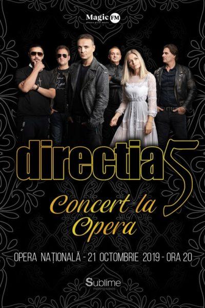 Poster eveniment Direcția 5 - Concert la Operă