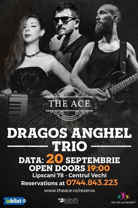Dragoș Anghel Trio la The Ace
