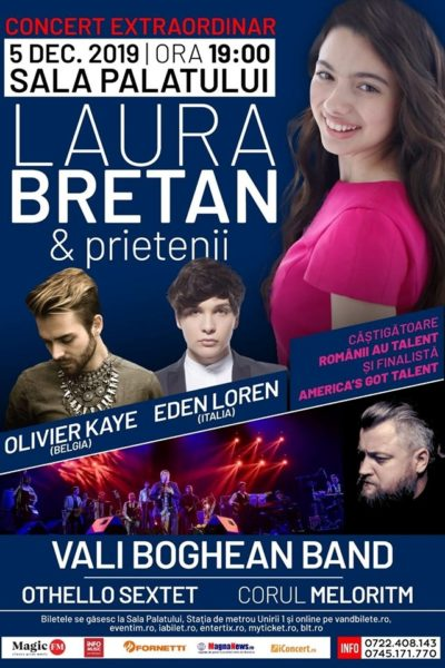 Poster eveniment Laura Bretan și prietenii
