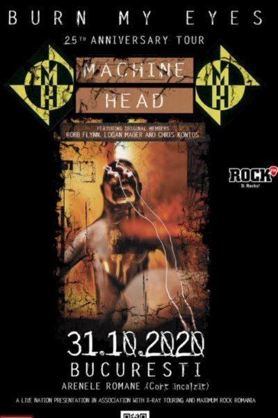 Poster eveniment Machine Head