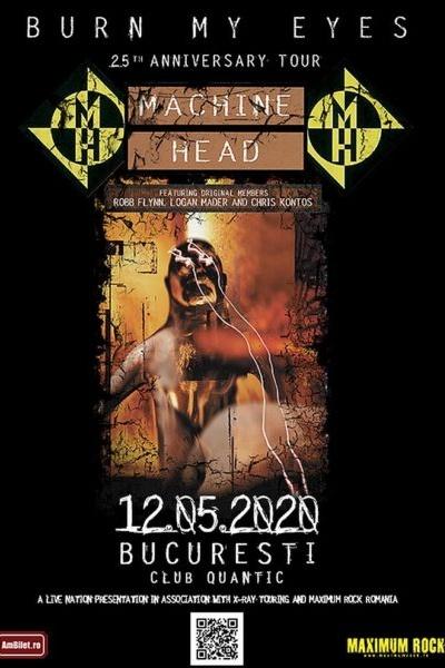 Machine Head la Quantic Club