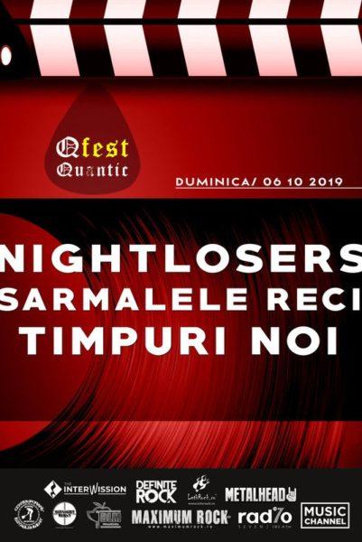Poster eveniment Nightlosers / Sarmalele Reci / Timpuri Noi