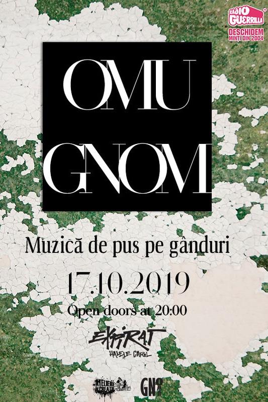 Omu Gnom – lansare album la Expirat Club