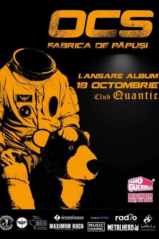 Omul cu Șobolani - lansare album la Quantic Club