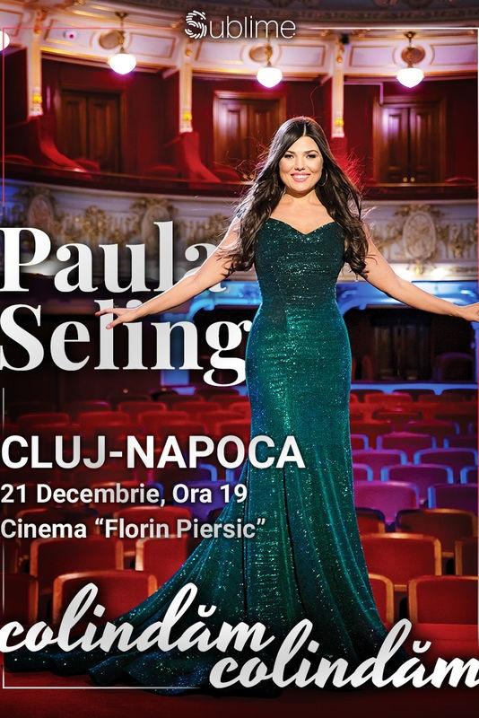 Paula Seling - Colindăm, Colindăm la Cinema Florin Piersic