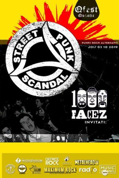 Poster eveniment Scandal + 1000facez