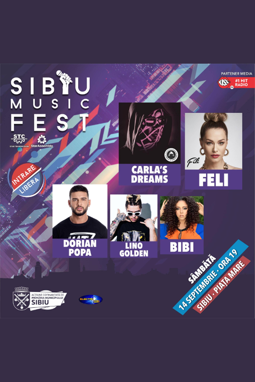 Sibiu Music Fest 2019 la Piața Mare din Sibiu