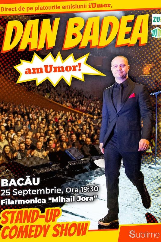 Stand Up Comedy: Dan Badea - amUmor la Filarmonica