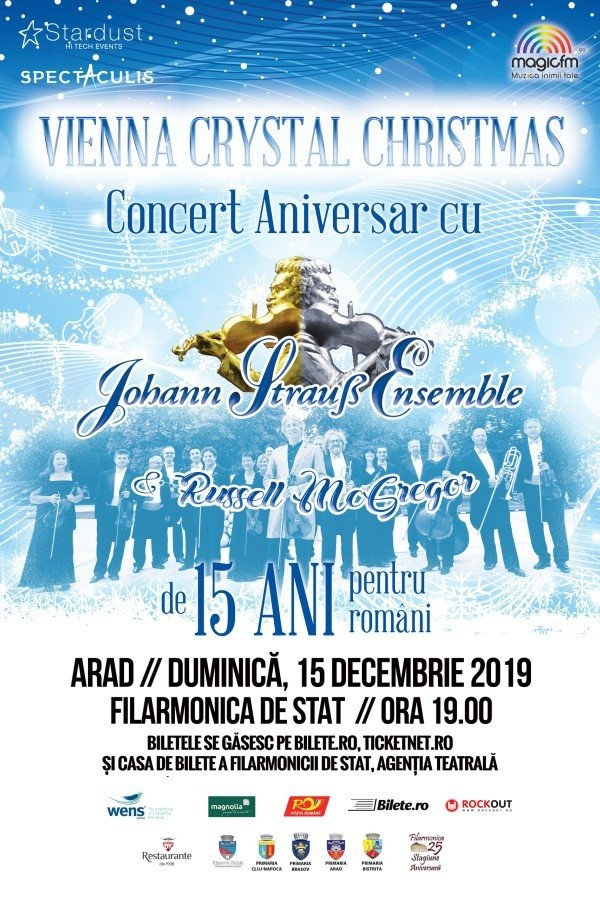 Vienna Crystal Christmas la Filarmonica de Stat Arad