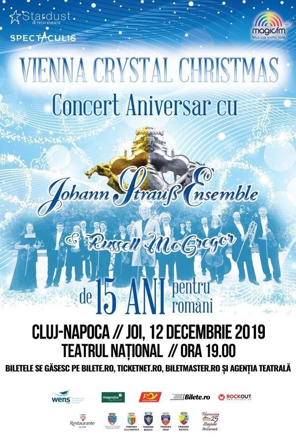 Vienna Crystal Christmas la Teatrul Naţional Cluj-Napoca