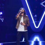 Dragoș Moldovan în cadrul audițiilor pe nevăzute de la Vocea României 2019