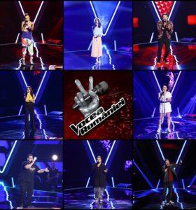 Concurenții care au întors scaunele în primul episod Vocea României 2019
