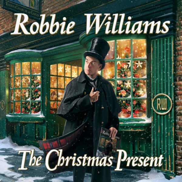 Coperta album Robbie Williams The Christmas Present