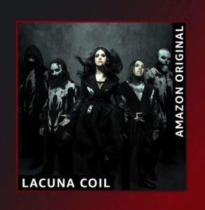 Coperta single Lacuna Coil Bad Things Amazon Original