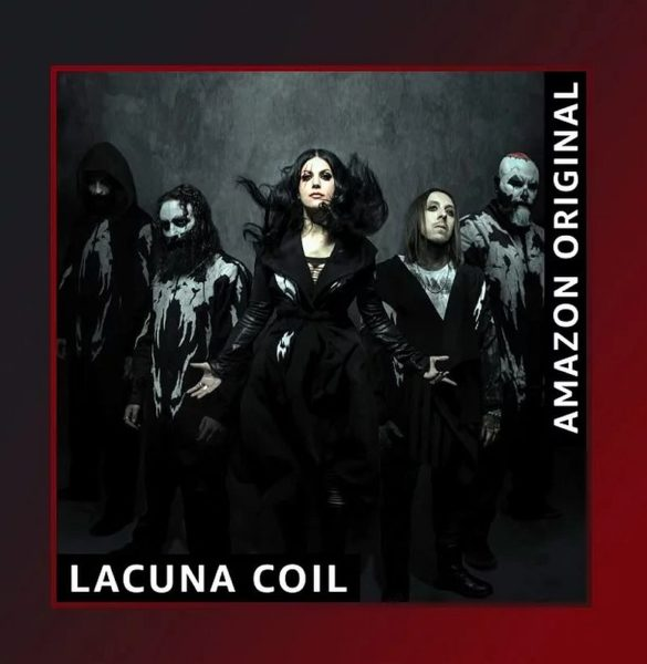 Coperta single Lacuna Coil Bad Things Amazon Original