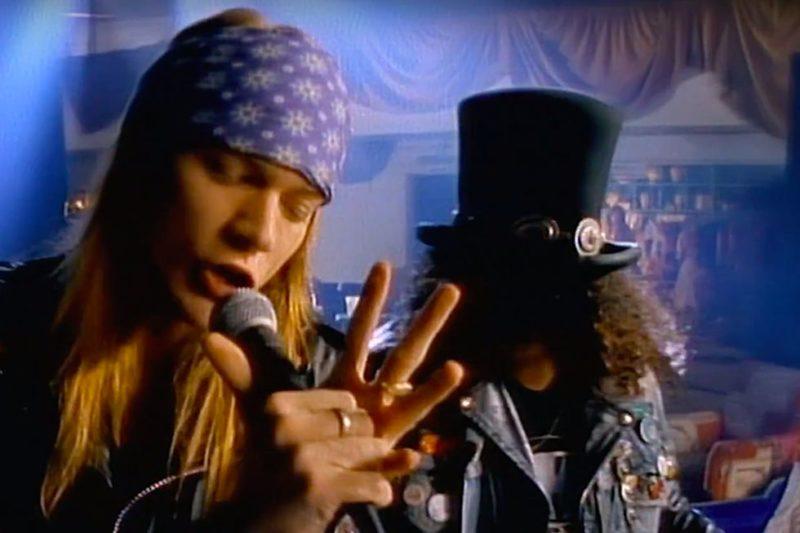 Sweet Child O Mine 1 miliard vizualizari Guns N Roses 2019