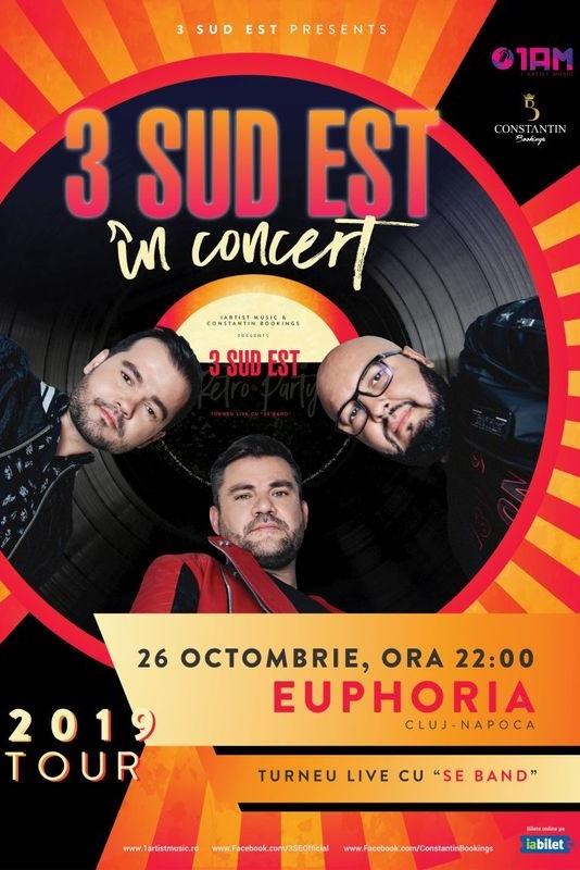 3 Sud Est la Euphoria Music Hall