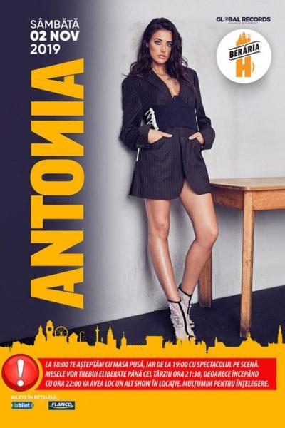 Poster eveniment Antonia