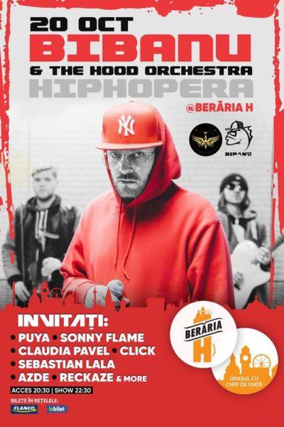 Poster eveniment Bibanu & The Hood Orchestra - HipHop Era