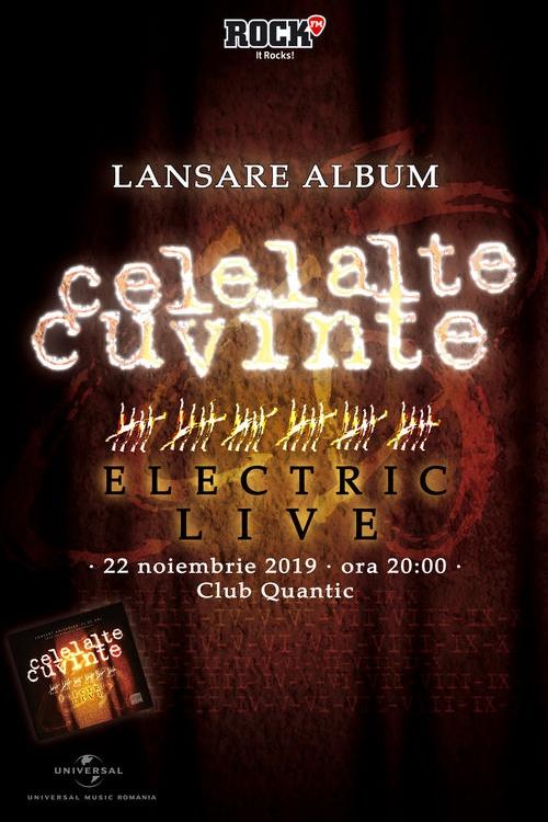 Celelalte Cuvinte - lansare album la Quantic Club