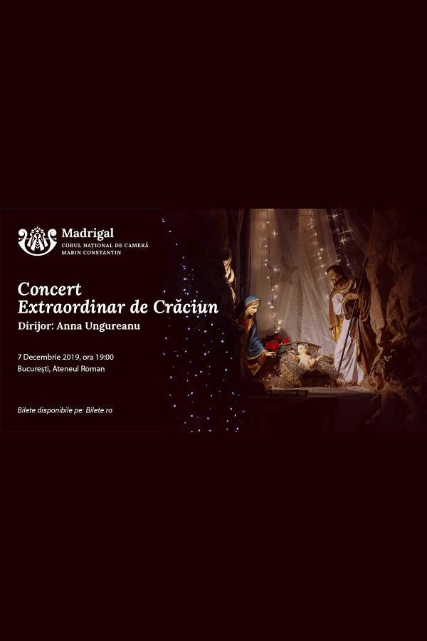 Corul Madrigal - Concert de Crăciun 2019 la Ateneul Român