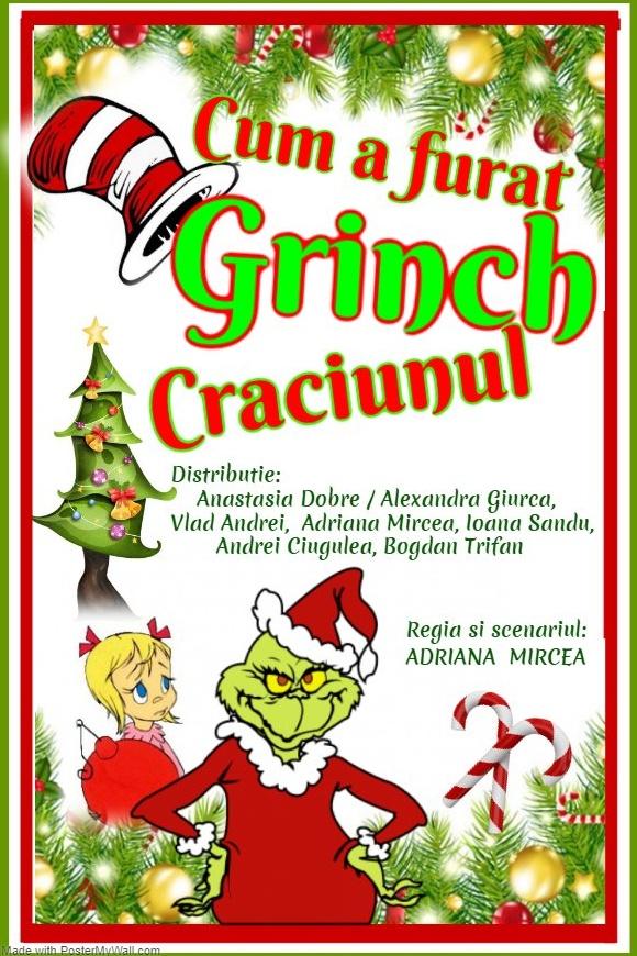 Cum a furat Grinch Crăciunul la Palatul Național al Copiilor