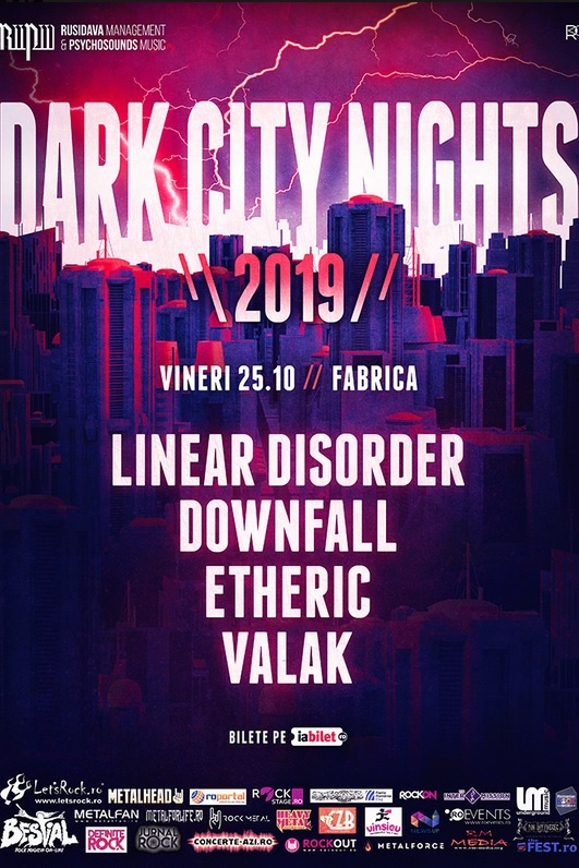 Dark City Nights 2019 la Fabrica