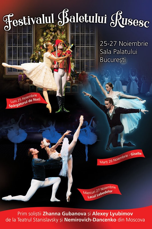 Festivalul Baletului Rusesc - Spărgătorul de Nuci la Sala Palatului