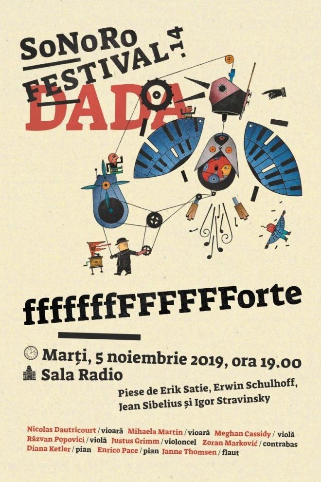 Festivalul SoNoRo la Sala Radio