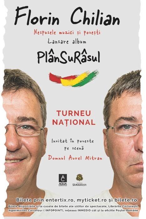 Florin Chilian - turneu național la Cinema Florin Piersic