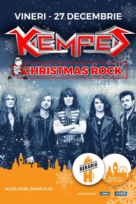 Kempes - Christmas Rock la Berăria H