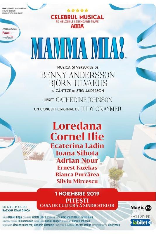 Mamma Mia la Casa de Cultură a Sindicatelor Pitești